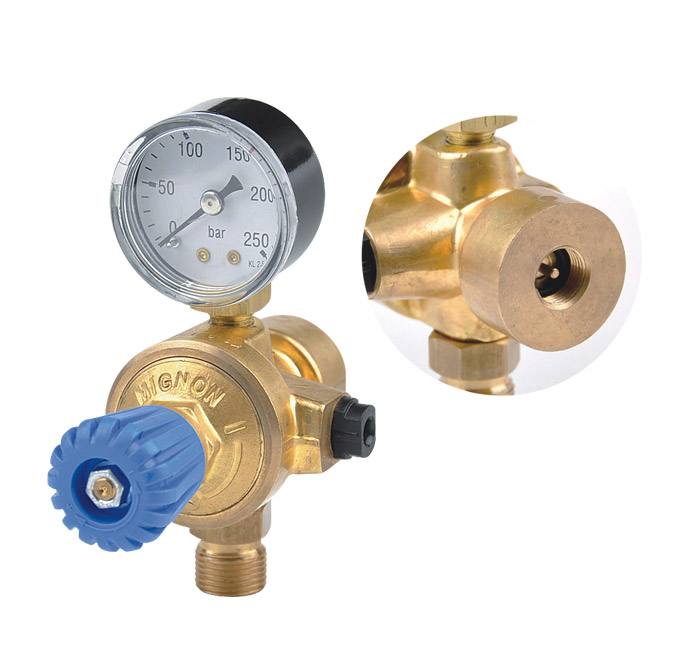 Co2 Regulator High Pressure Regulator Medical Oxygen