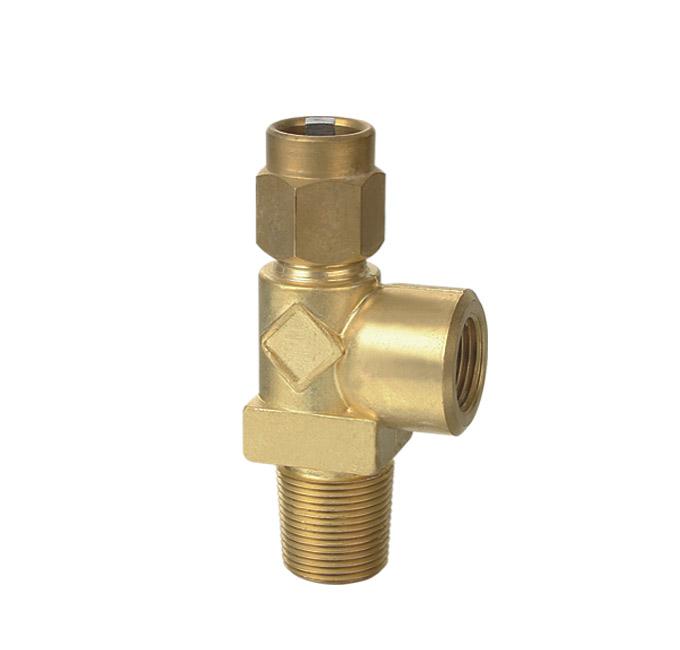 Oxygen Standards Series Valve For Cylinder Oxygen Cylinder